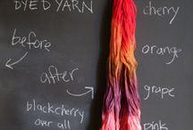 Hand dye