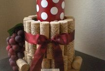 Wine Bottle/Cork Crafts