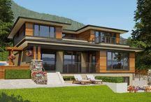 Bldgs: roof overhang