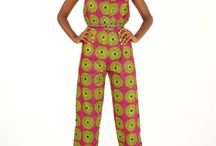 African prints / A variety of designs made using African prints