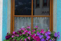 Balconi in fiore.