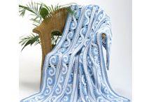 Crochet afghan, blanket, throw