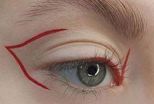 strange makeup