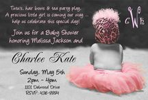 Baby shower ideas / by Chloe Marie Couture