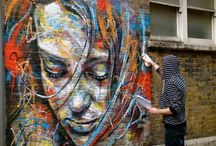 I love street art..!