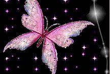 ピンク蝶々2