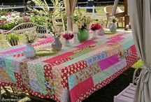 Patchwork Tablecloths