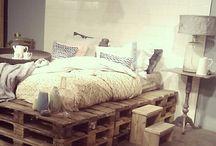 proiectul patul din paleti