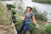 Abseiling / Step off the edge of the Kangaroo Point Cliffs and into a vertical world! As you wait in anticipation to hear your name being called for your turn - stand back and enjoy the uninterrupted views of Brisbane and watch the CityCats, boats and kayakers skim across the meandering river!