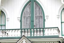 Victorian inspirations / Victorian houses, painted ladies, gingerbread trim, wrap around porches. These are the houses I dream of.  / by Andrea Strawther