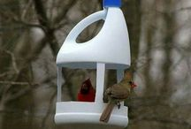 Bird feeders DIY