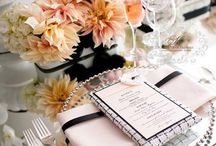 Love of formal place settings!!