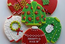 Christmas cakes and specialties / Cakes and other food specialties in the spirit of Christmas