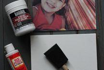 Foto,s op canvas en hout !!