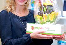 Frutiko with celebreties / Everybody loves them they love Frutiko Fruit Flower  http://www.frutiko.cz/en/my-frutiko / by Frutiko