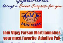 Winter Special / This winter season gujaratfood.com Brings a Sweet Surprise for you. Jain Vijay Farsan Mart Launches your most favorite ADADIYA PAK at gujaratfood.com