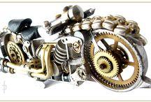 Watch Motorcycle Steampunk 1 / Watch Motorcycle Steampunk Price 680 zł folaron@konto.pl