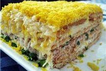 закусочной рыбный торт