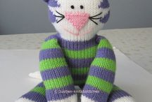 Knitted kitty patterns