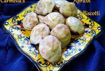 Carmella's Apricot Biscotti / Carmella's Apricot Biscotti Recipe from Kitchen Wisdom Gluten Free