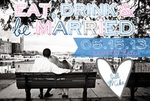 Eat, Drink and be Married! / Eat, Drink and be Married! Eat, Drink and be Married wedding invitations, Eat, Drink and be Married save the dates, Eat, Drink and be Married save the date magnets, wedding invitations, wedding save the dates, magnet save the dates