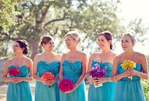 Dresses for me and my gals! / Wedding dresses and bridesmaid dresses