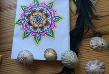 Mandala univers / These are the mandalas I draw. I want to share them. Hope you like them :)  Keep love in your hearts! <3