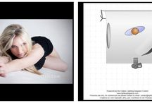 Valokuvaus - valaistus ja poseeraus