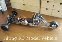 Tilting RC Model Vehicle