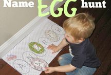 Family Egg Hunt / Ideas for family egg hunting and Easter themed activities