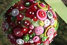 Pomanders from polysterene balls
