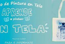 Pintura en Tela / Trabajos realizados sobre Tela, utilizando acrilico textil;)  Espero que os guste :)