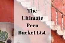 Travel - Peru