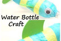 Ideas for preschool using waste
