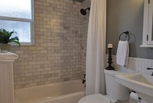 Downstairs Bathroom & bedroom Re-Do ideas / by Linda Cunningham Thomas