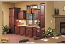 At the Office - Showplace Cabinets / Covington Door Style