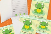 A Froggy Baby Shower / by Anna Knaus