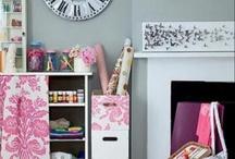 craft room ideas / by Kristin Michelle