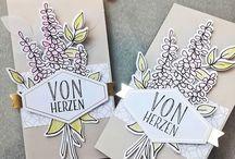 Karten mit SU - Lots of Happy - Gruß + Glück