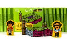Paper Models for Children / Cute DIY cut out paper model kits