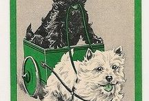 Swap Cards  Scotty Dogs  Scottish Terriers