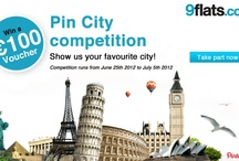 [Competition] Pin City / Show us the city you love and win a €100 voucher for your next booking with 9flats! Find out more >> http://blog.9flats.com/show-us-the-city-you-love/