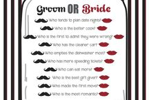 Bridal party ideas / Games, beauty, and other bridal ideas