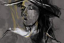 Digital Art Serie   Portraits