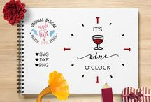 Kitchen Wine Cut Files - Kitchen SVG / Discover our cut files for kitchen, food, wine and coffee. Favorite quotes in new original designs.