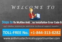 How to fix McAfee Installation Error Code 0? 1-8443138282 Call for Help