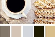 Coffe&Tea Palette / Colour palette about coffee and tea