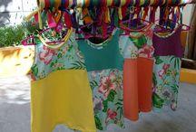 Algunos vestiditos bien coloridos !!! / Realizados en modal y algodón con Lycra.Frescos y divertidos para estar siempre lindas !!!