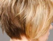 Short hair styles / Short hairstyles  / by Vickie Orlando