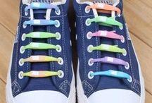 Силиконовые шнурки / Не нужно завязывать. Не нужно развязывать. Не никаких узлов. Тянутся, но не растягиваются. Не боятся жары, не боятся мороза. Удобно, стильно, модно.